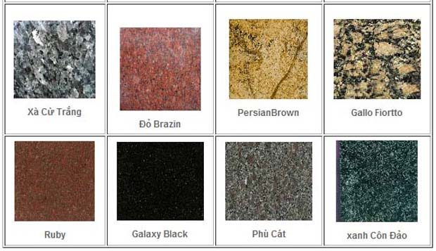 Thủ tục xuất khẩu đá granite