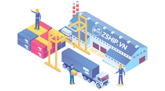 đặt hàng vận chuyển quốc tế
