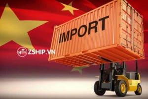 thủ tục nhập khẩu trung quốc