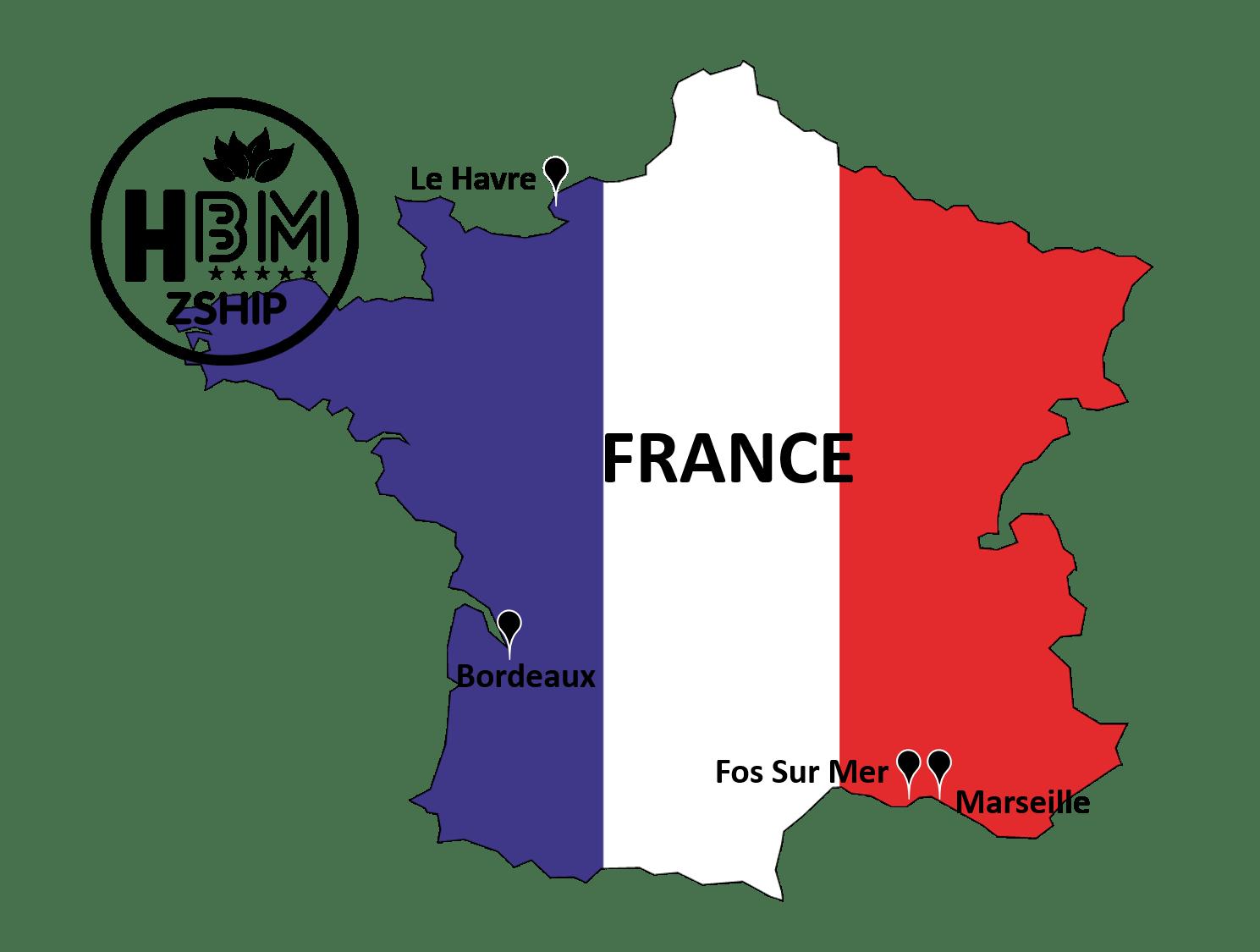 Danh sách cảng biển tại Pháp