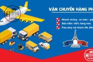 Nhận gửi hàng từ Pháp về Việt Nam