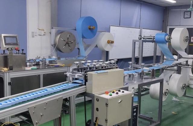 Dây chuyền sản xuất khẩu trang tự động cho năng suất cao và chất lượng tốt