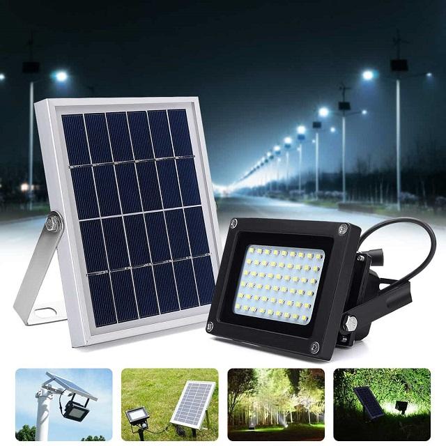 Đèn năng led năng lượng mặt trời có nhiều ưu điểm vượt trội