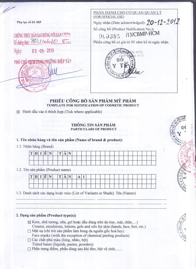 Doanh nghiệp muốn nhập khẩu mỹ phẩm về Việt Nam cần làm thủ tục công bố mỹ phẩm nhập khẩu