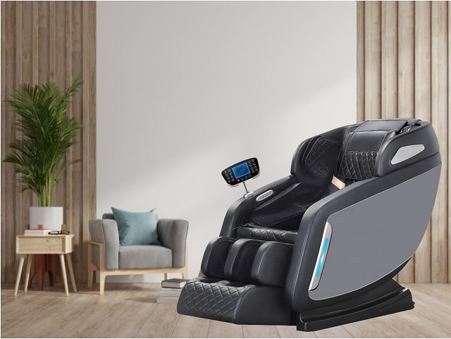 Ghế matxa với thiết kế thời thượng đáp ứng nhu cầu chăm sóc sức khỏe, thư giãn của mọi đối tượng