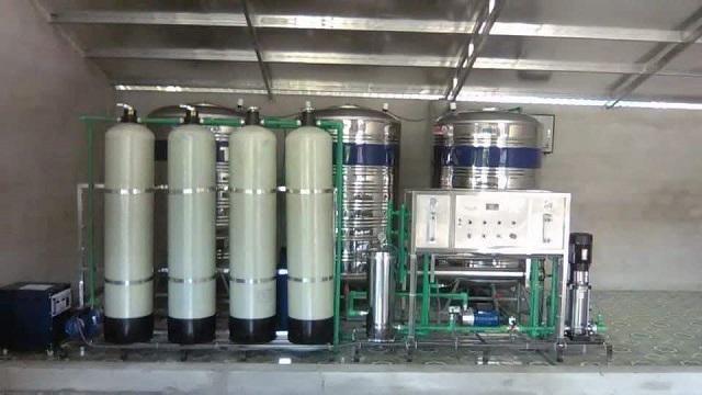 Hệ thống lọc nước công nghiệp được thiết kế với công suất lớn mang đến nguồn nước có chất lượng tốt