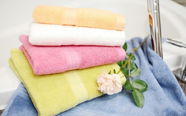 Khăn mặt khăn tắm từ Việt Nam xuất khẩu sang nước ngoài với số lượng lớn