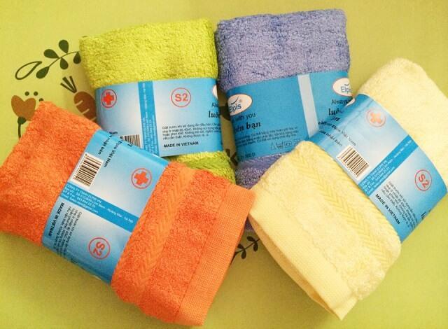 Mặt hàng khăn mặt, khăn tắm xuất khẩu ra nước ngoài được tính vào danh sách miễn thuế