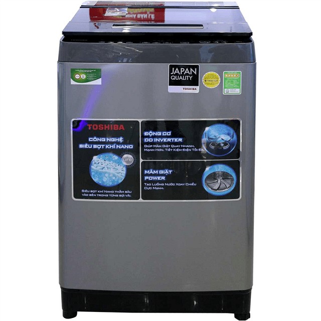Máy giặt được cài đặt sẵn phần mềm để thực hiện các thao tác giặt giũ thay con người
