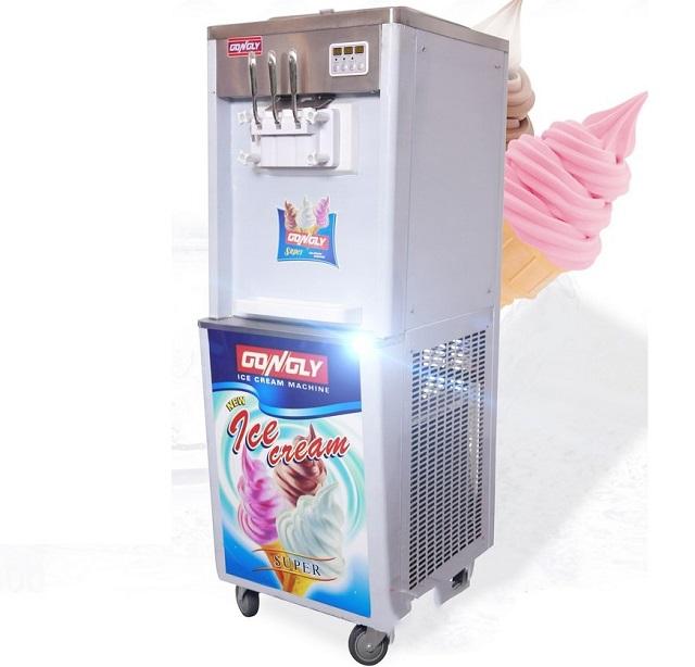 Máy làm kem là thiết bị ứng dụng công nghệ làm lạnh để sản xuất ra những que kem