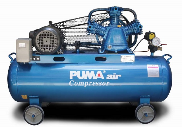 Máy nén khí có chức năng giúp tăng áp suất của chất khí