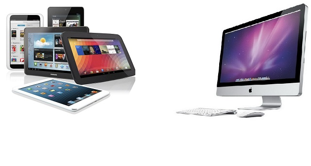 Máy tính bảng, máy tính để bàn đã quá quen thuộc