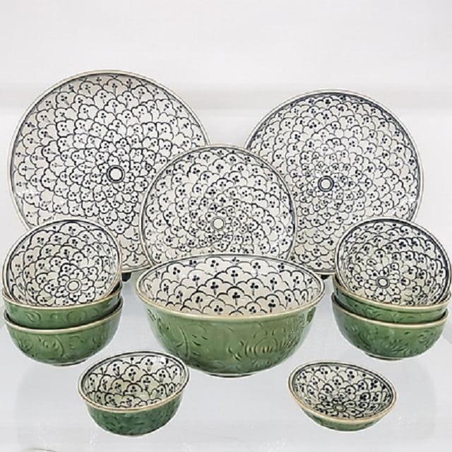 Bát đĩa gốm sứ Bát Tràng cũng được xuất khẩu sang Châu Âu