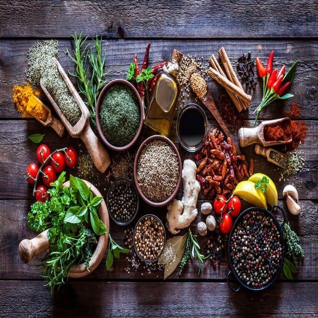 Nguyên liệu thực phẩm làm tăng hương vị cho món ăn