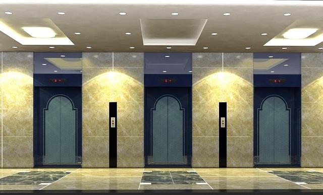 Sử dụng thang máy trong các tòa nhà cao tầng nhằm giảm bớt sức lao động cho con người